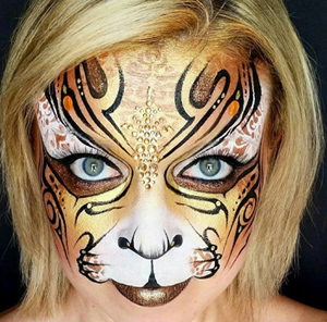 Cameron Garrett face and body painting in Southern California SoCal