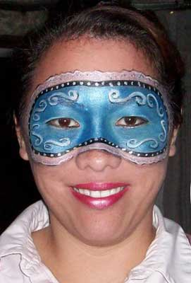 face and body painting in Los Angeles, Southern California