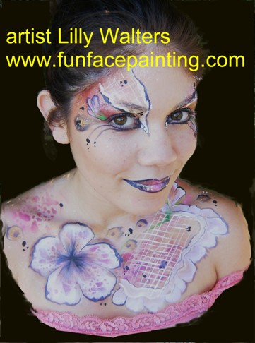 Face and Body Painting Classes Workshop