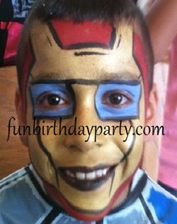 Face Painter for Meetings, Parties and Events in Canada