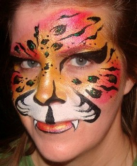 Face Painting in Washington State, Oregon and California Local Face Painter