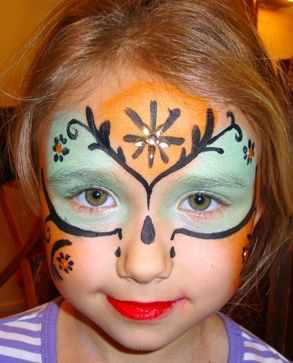 Face Painting in Oregon and California Local Face Painter